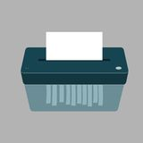 Paper Shredder Machine Royalty Free Stock Images