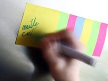 paper slip arkivfoto