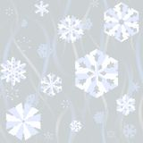 Paper snow background Royalty Free Stock Photography