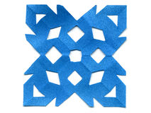 paper snow för flake royaltyfri foto