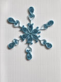 Paper snowflake Stock Image