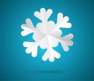 Paper snowflake Royalty Free Stock Image