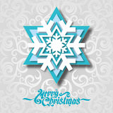 Paper snowflake Stock Images