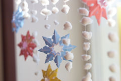 Paper snowflake Stock Image