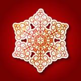 Paper snowflake Stock Photos