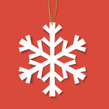 Paper snowflake Royalty Free Stock Photos