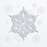 Paper snowflake Stock Photos