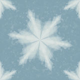 Paper Snowflake. Seamless Pattern. Christmas Illustration Royalty Free Stock Photo