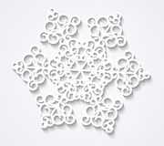 Paper snowflake Royalty Free Stock Photo