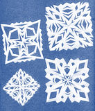 Paper snowflakes Royalty Free Stock Photos