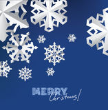 Paper snowflakes Stock Photography