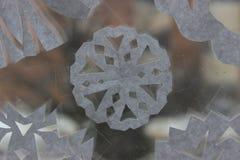 paper snowflakes Arkivfoton