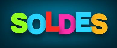 Free Paper Soldes Sign. Stock Images - 125559214