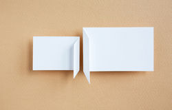 Paper speech bubble Royalty Free Stock Image
