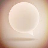 Paper Speech Bubble. Stock Photography
