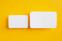 Paper speech bubbles Royalty Free Stock Images