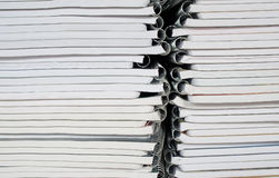 Paper Spiral bound notebooks Royalty Free Stock Images