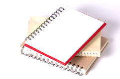 Paper spiral notebooks Royalty Free Stock Image