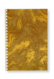 Paper spiralanteckningsbok. royaltyfri fotografi