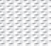 Paper square 11. Seamless repeating square abstract texture, 3d vector background Stock Image