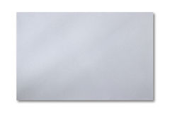 Paper is square. Square paper on white  background for text Stock Image