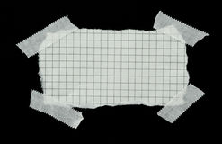 paper squared strip Στοκ Φωτογραφίες