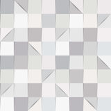 Paper squares. Seamless background pattern, consisting of folded paper squares and triangles, in shades of grey. EPS10 vector format Vector Illustration