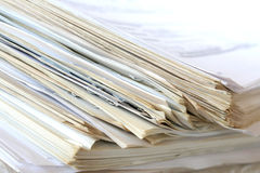 Paper stack Stock Photos