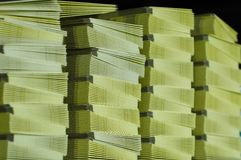 Paper stack Stock Photography
