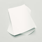 Paper Stack Royalty Free Stock Images