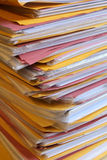 Paper stack Stock Image