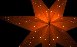 Paper star Royalty Free Stock Photos