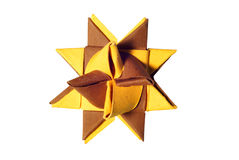 Paper star Stock Photo