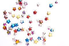 Paper star colourfull Royalty Free Stock Photo