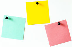 Paper sticker Stock Images