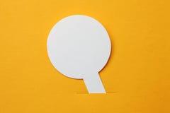 Paper sticker Stock Image