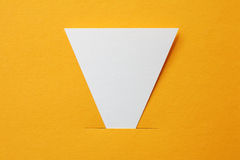 Paper sticker Stock Photos