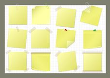 Paper stickers Royalty Free Stock Photo