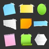 Paper Sticky Note Royalty Free Stock Photo