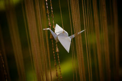 Paper stork Stock Photography