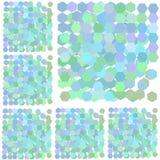 Paper streamer pastel   background Stock Image