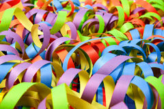 Paper streamers background Stock Photography