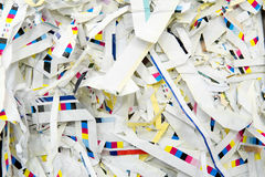 Paper strips Royalty Free Stock Photography