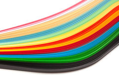 Paper strips royalty free stock images
