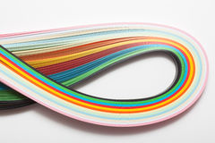 Paper strips Stock Image