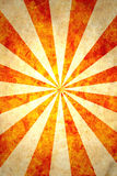 Paper with sun rays. Paper textured grunge background in retro style Royalty Free Stock Photo