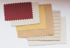 Paper swatch Stock Images