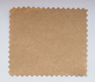 Paper swatch Stock Image