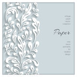 Paper swirls background Stock Photos