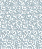 Paper swirls pattern Stock Photos